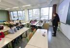 Učebna základní školy na ČVUT. Foto: ČVUT
