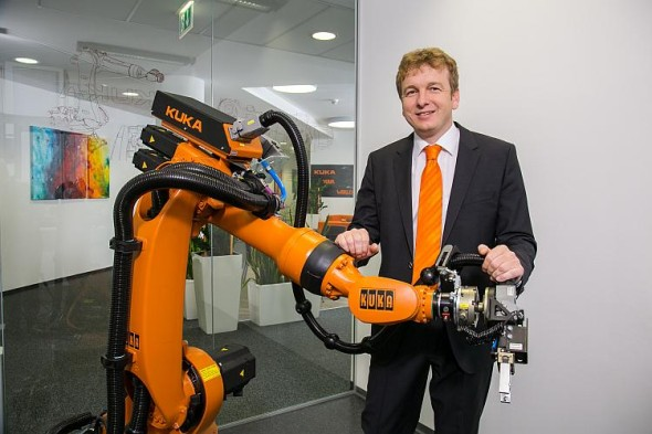 Jindřich Vaňous, ředitel organizační složky KUKA Roboter CEE GmbH. Foto: KUKA