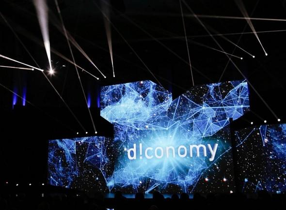 Už druhým rokem se nese CeBIT ve znamení digitální ekonomiky – d!economy –, letos přibude i seminář na toto atraktivní téma. Foto: Hannover Messe