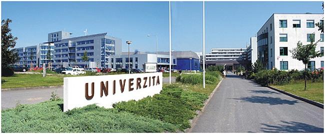 Západočeská univerzita. Foto: ZČU
