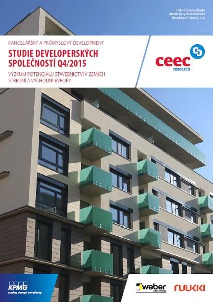 Studie developerských společností Q4/2015 zpracované analytickou společností CEEC Research