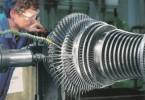 Turbína představuje klíčovou součást tepelných elektráren. Design turbín je proto nesmírně přesně vypočítaný za účelem co nejúčinnější přeměny energie páry na rotační pohyb. Každé procento výkonu navíc totiž znamená výrazné navýšení v produkci energie. Foto: Siemens
