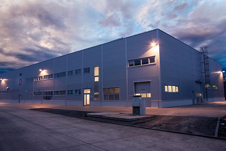 Nová výrobní hala společnosti Alcaplast v Břeclavi. Foto: Alcaplast