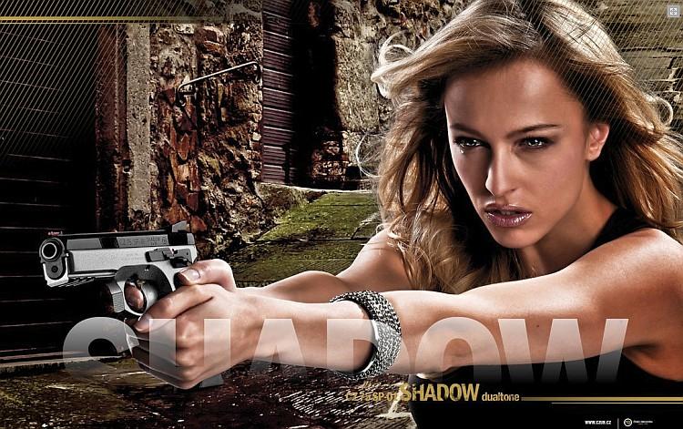 Česká zbrojovka vyrábí například pistole CZ 75 SP-01 shadow dualtone. Foto: Česká zbrojovka