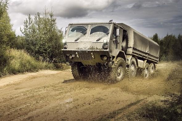 Tatra T815 8x8. Foto: Tatra Trucks