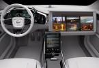Projekt autonomního automobilu Volvo, na kterém s automobilkou Aricsson spolupracuje. Zdroj: Ericsson/Volvo