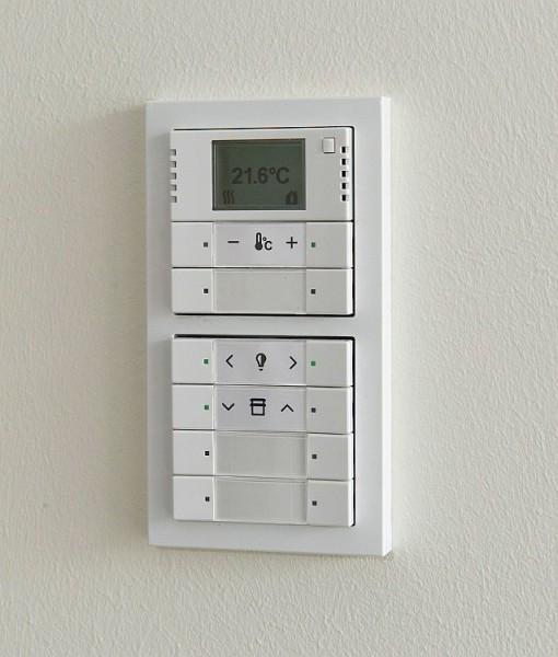 Panel pro ovládání světel ABB KNX. Zdroj: ABB