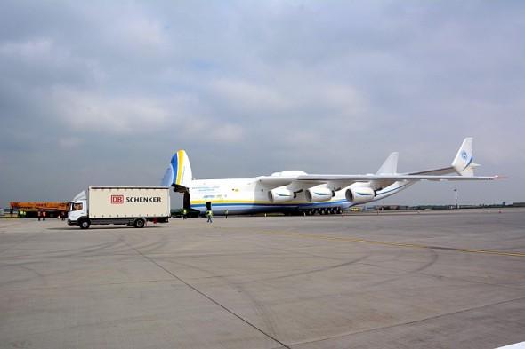 Antonov Mrija ve službách DB Schenker. Foto: DB Schenker