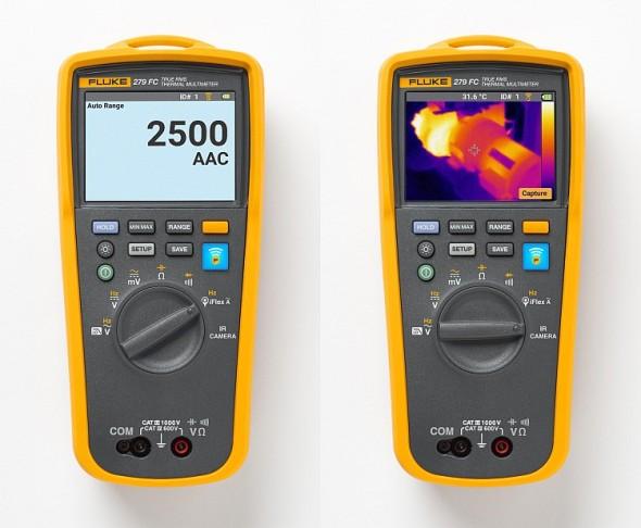Termomultimetr Fluke 279 FC TRMS. Foto: Fluke