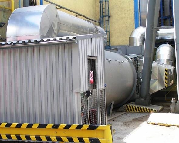 Spalovací komora zabezpečuje pokles emisí plynných složek spalin. Foto: Rockwool