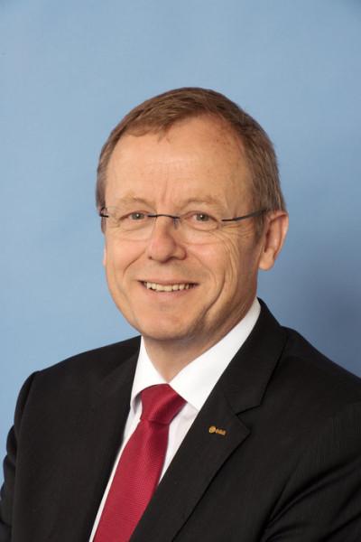 Profesor Johann-Dietrich Woerner, generální ředitel Evropské kosmické agentury (ESA). Zdroj: ČVUT