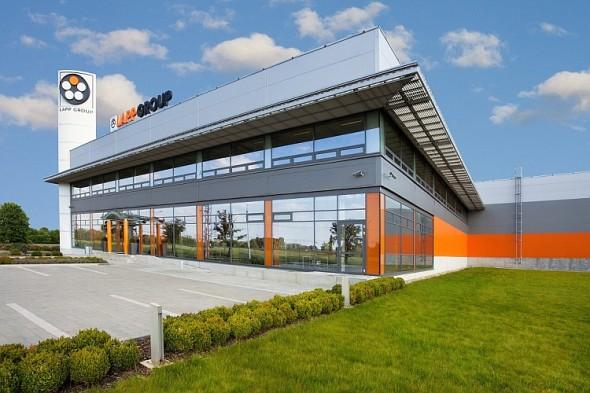 Současná budova společnosti Lapp Kabel v Otrokovicích. Foto: Lapp Kabel