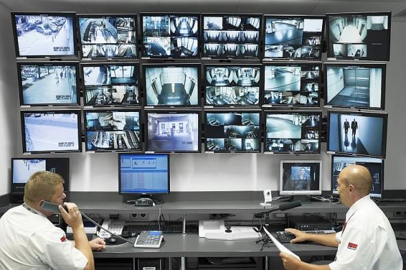 RVS monitorovací systém. Foto: Securitas