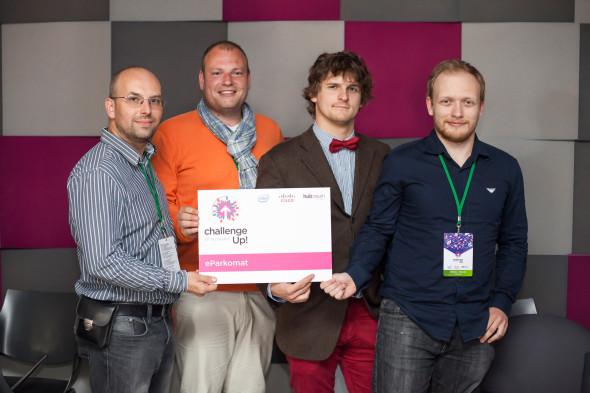 Deset vteřin slávy pro tvůrce eParkomatu. Zdroj: Cisco