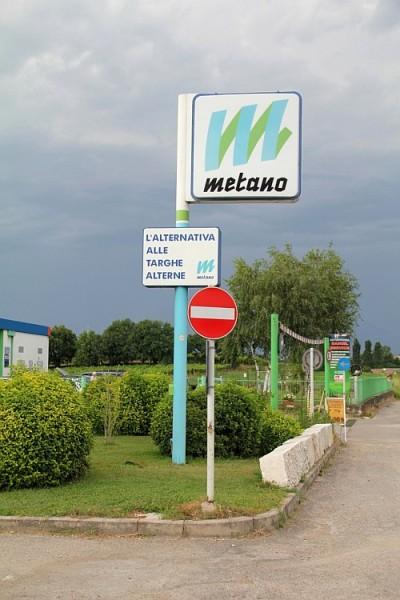 CNG stanice v Itálii. Zdroj: Bonett Gas Investment