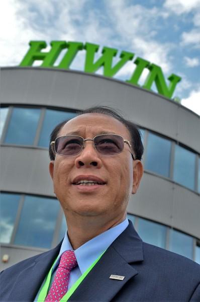 Zakladatel korporace Hiwin Eric Y. T. Chuo, Foto: Hiwin