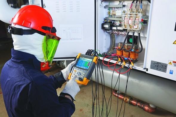 Analyzátor motorů a kvality elektrické energie Fluke 438-II. Foto: Fluke
