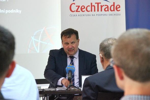 Ministr průmyslu a obchodu Jan Mládek. Foto: CzechTrade