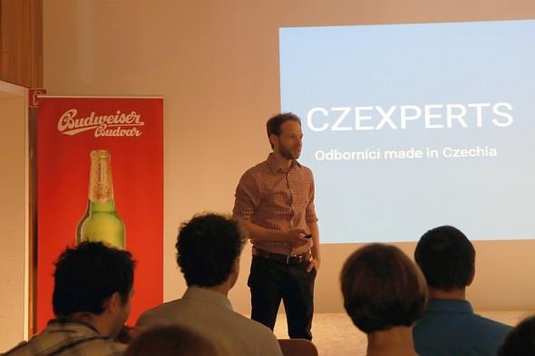 Jan Rieger CZEXPERTS. Zdroj: Česká centra