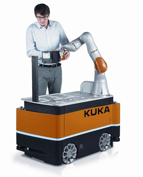 KUKA KMR iiwa. Foto: archiv společnosti KUKA Roboter CEE