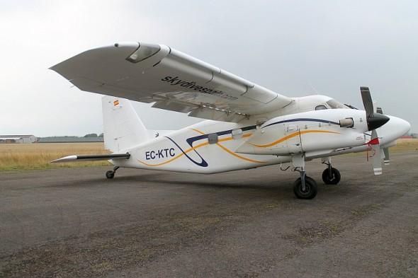Motory GE H75 budou brzy pohánět letoun Dornier Do-28 společnosti Wingglider specializující se na parašutistické seskoky. Zdroj: GE Aviation
