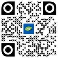 QR kód aplikace vyhladávání CNG stanic. Zdroj: RWE