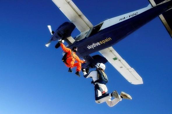 Skydive. Zdroj: GE Aviation
