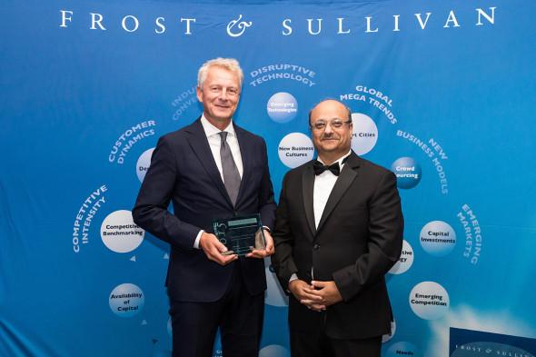 Siemens stal Evropskou společností roku v kategorii Stavební technologie