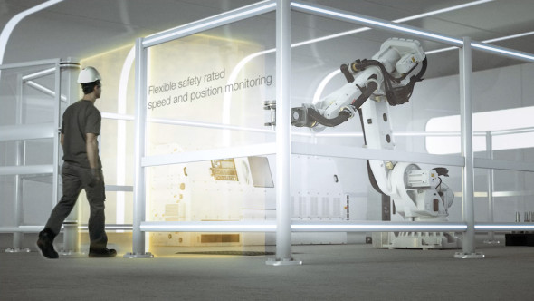 ABB uvedla systém SafeMove2 pro spolupráci člověka a robota