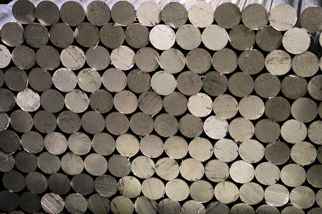 hliníkové tyče