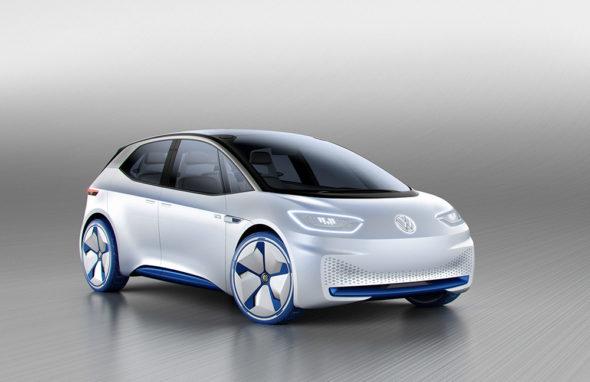 Koncept elektrického vozidla od VW. Zdroj: volkswagen-media-services.com