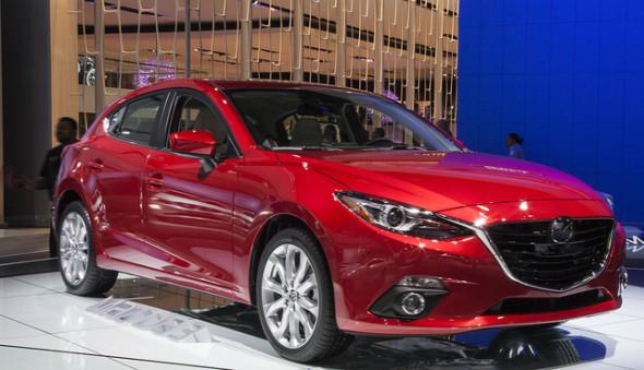 Jeden ze svolávaných modelů je i Mazda 3. Zdroj: flicker.com