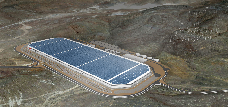 Podoba Gigafactory 1. Zrdoj: tesla.com