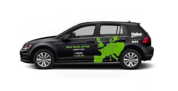 Autonomní vozidlo Valeo Cruise4U.