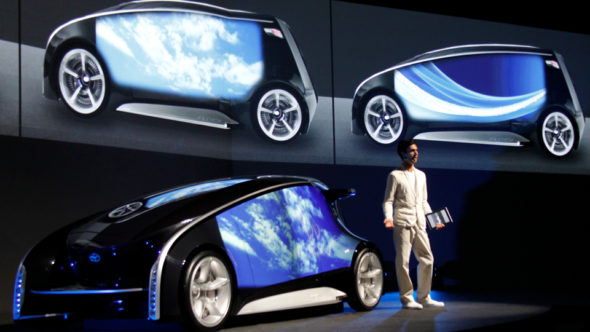 Toyota Future Concept Car